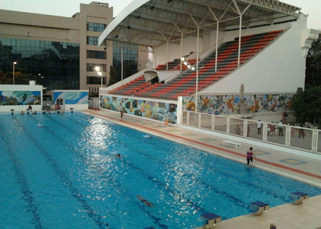 Mahatma Gandhi Memorial Olympic swimming pool